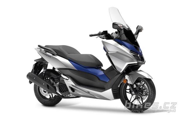 Honda Forza 125 2017 Technické Parametry Názory Motorkářů